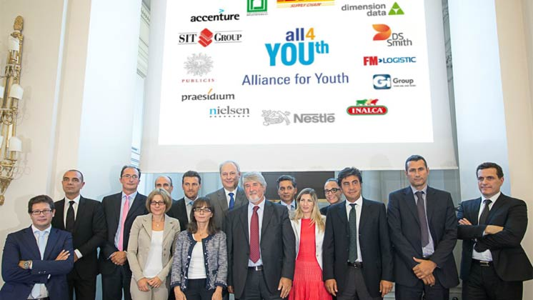 200 partner firmano l'Alliance for YOUth