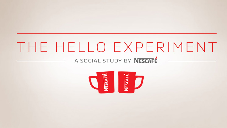 Nescafé presenta The hello Experiment